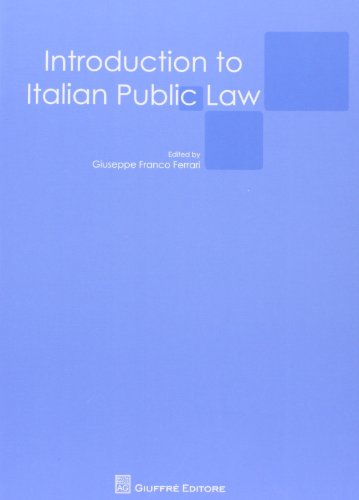 9788814143885: Introduction to italian public law