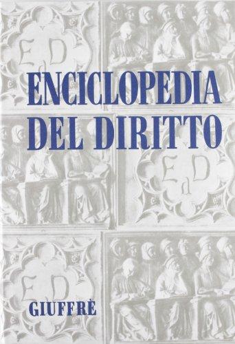 9788814147630: Enciclopedia del diritto