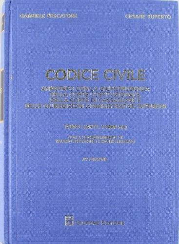 9788814148507: Codice civile. Annotato con la giurisprudenza della Corte costituzionale, della Corte di Cassazione e delle giurisdizioni amministrative superiori
