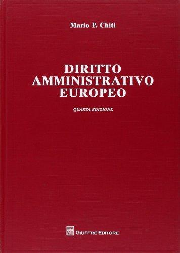 9788814156328: Diritto amministrativo europeo