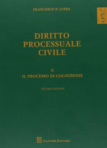 9788814173288: Diritto processuale civile: 2
