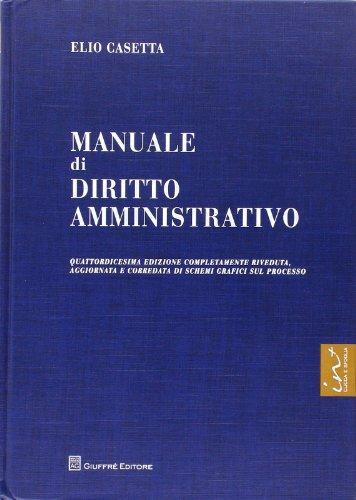 9788814174452: Manuale di diritto amministrativo