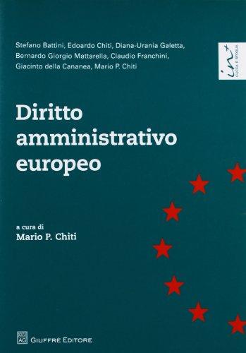 9788814181610: Diritto amministrativo europeo
