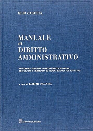 9788814182891: Manuale di diritto amministrativo