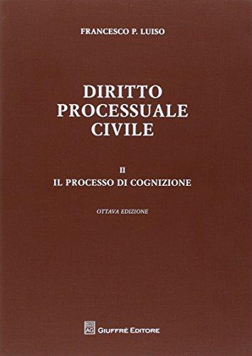 9788814183218: Diritto processuale civile: 2