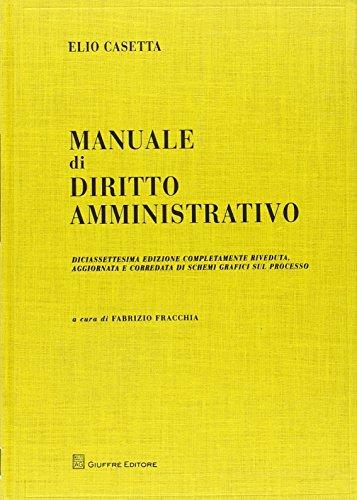 9788814200182: Manuale di diritto amministrativo