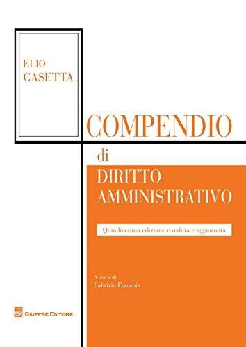 9788814200199: Compendio di diritto amministrativo