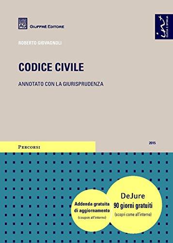 9788814206092: Codice civile. Annotato con la giurisprudenza