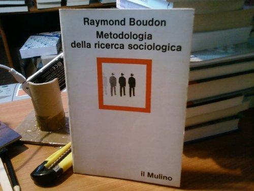 9788815053084: Metodologia della ricerca sociologica