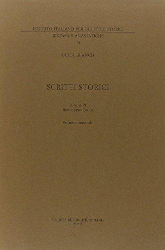 Scritti storici. Vol.I:Il Regno di Napoli dalla Restaurazione Borbonica all'avvento di Re ...