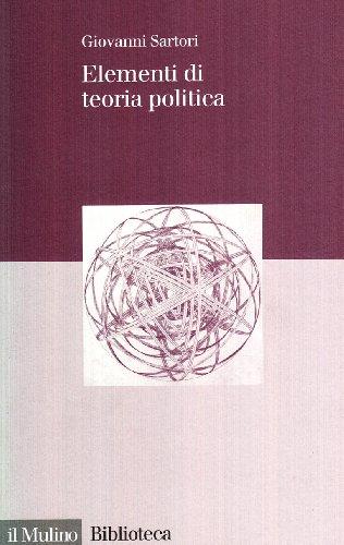 9788815090812: Elementi di teoria politica