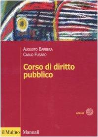 9788815097774: Corso di diritto pubblico (Manuali)