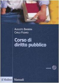 9788815113344: Corso di diritto pubblico (Manuali)