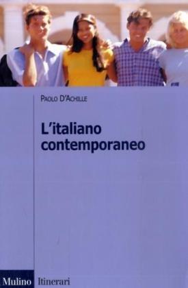 9788815114235: L'italiano contemporaneo