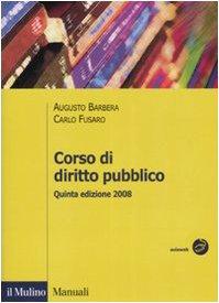 9788815125958: Corso di diritto pubblico (Manuali)