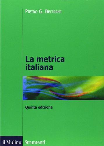 9788815232359: La metrica italiana