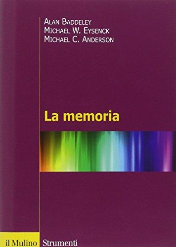 9788815232571: La memoria