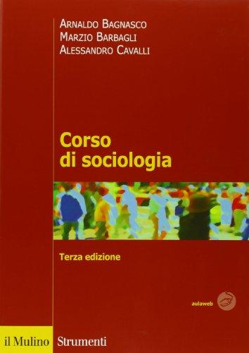9788815238948: Corso di sociologia