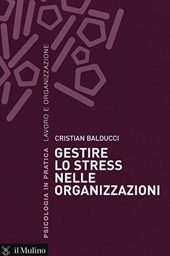 9788815258748: Gestire lo stress nelle organizzazioni