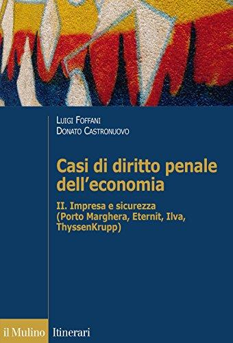 9788815261007: Casi di diritto penale dell'economia