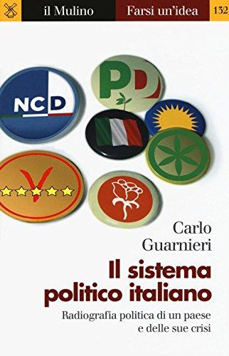 9788815263810: Il sistema politico italiano. Radiografia politica di un paese e delle sue crisi