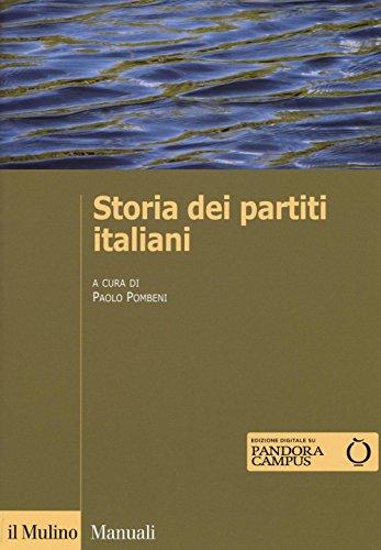 9788815265371: Storia dei partiti italiani. Con e-book