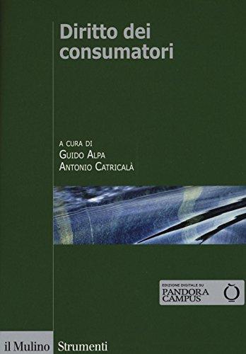 9788815265814: Diritto dei consumatori (Strumenti. Diritto)