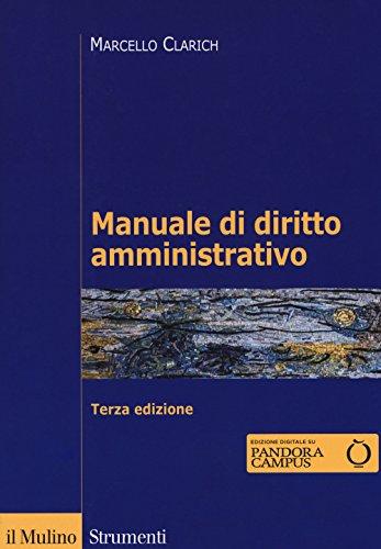 9788815272058: Manuale di diritto amministrativo. Con ebook