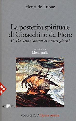 9788816305632: La posterità spirituale di Gioacchino da Fiore