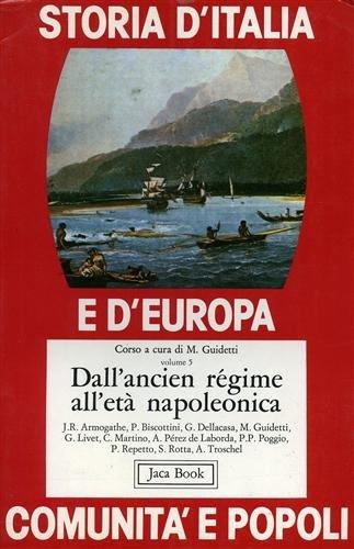 9788816400672: Dall'ancien régime all'età Napoleonica: Vol. 5