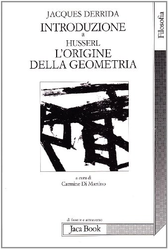Introduzione a «L'origine della geometria» di Husserl (8816401877) by Jacques Derrida