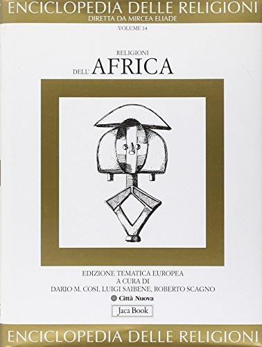 9788816410145: Religioni dell'Africa