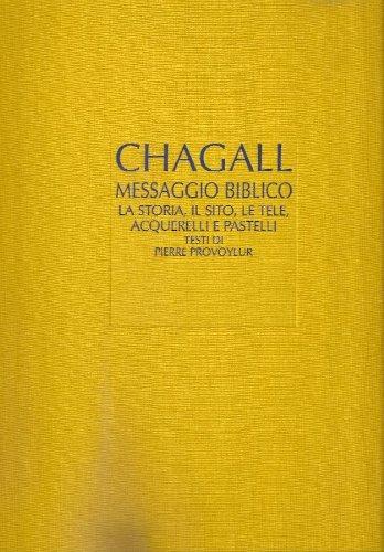 9788816609006: Il messaggio biblico di Marc Chagall