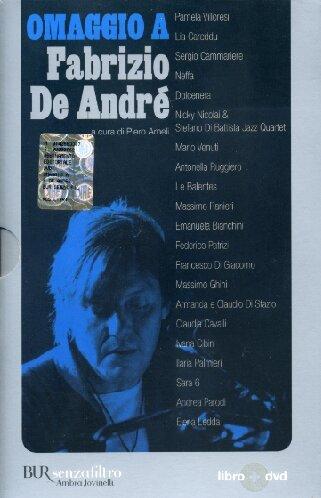 9788817012966: Omaggio a Fabrizio De André. Con DVD (Senzafiltro)