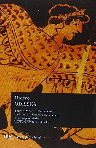 9788817020718: Odissea. Testo greco a fronte