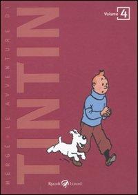 9788817049528: Le avventure di Tintin vol. 4