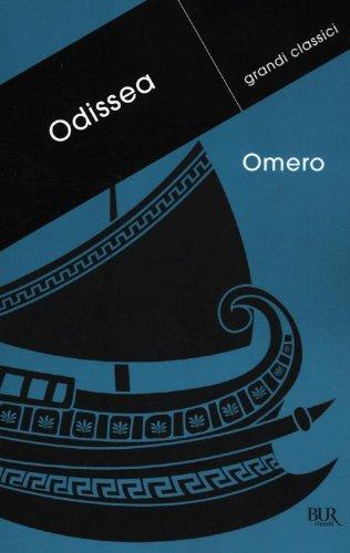 9788817059770: Odissea. Testo greco a fronte