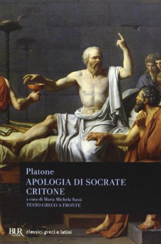 9788817067010: Apologia di Socrate-Critone. Testo greco a fronte