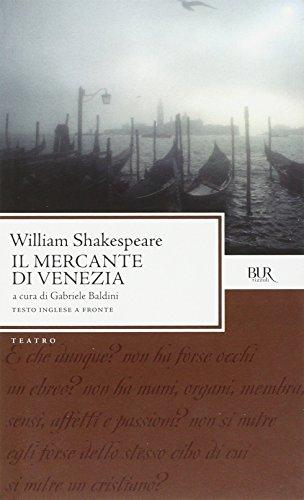 9788817106443: Il mercante di Venezia. Testo inglese a fronte