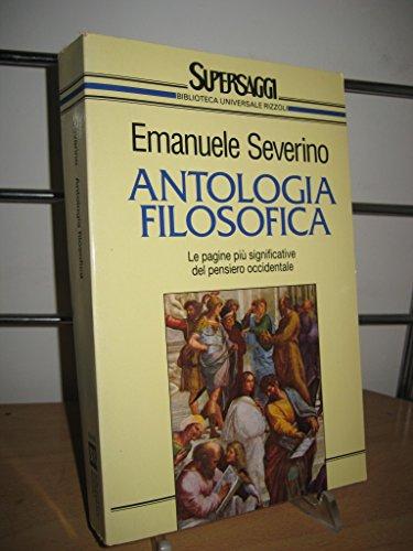 Antologia filosofica: Severino, Emanuele