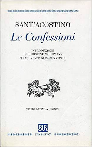 9788817118460: Le confessioni. Testo latino a fronte