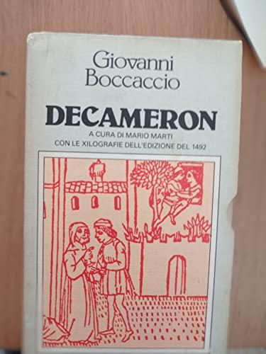 DECAMERON - due volumi: BOCCACCIO, GIOVANNI