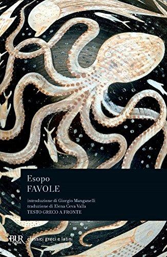 Favole. Testo greco a fronte - Esopo