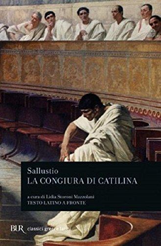 9788817120722: La congiura di Catilina. Testo latino a fronte