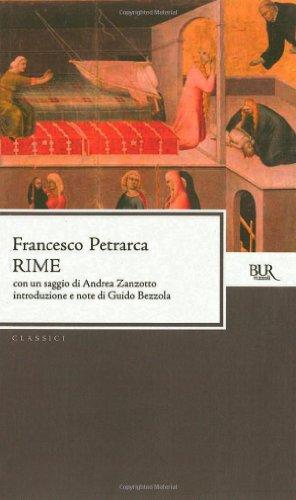 Rime (Italian Edition): Petrarca