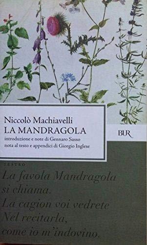 9788817122887: La Mandragola (Italian Edition)