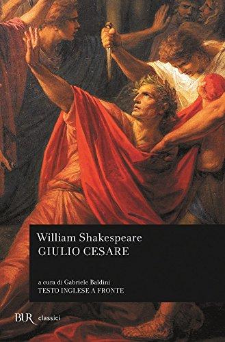 9788817122948: Giulio Cesare Testo Inglese a Fronte