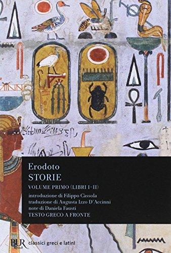 9788817124836: Storie. Testo greco a fronte. Libri 1º-2º (Vol. 1)