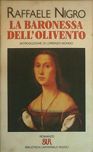 9788817138109: La baronessa dell'Olivento (Bur)
