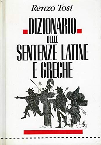 9788817145169: Dizionario Delle Sentenze Latine E Greche (Italian Edition)